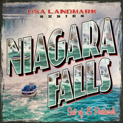 Niagara Falls Postcards | Set of 8