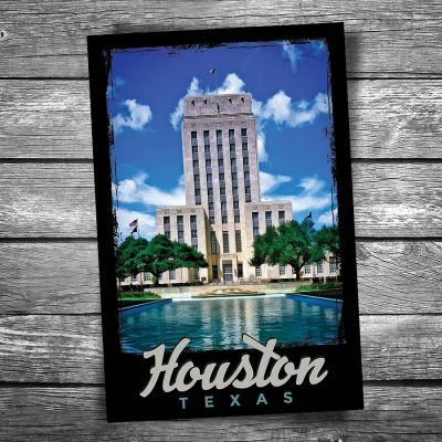 Houston City Hall Postcard