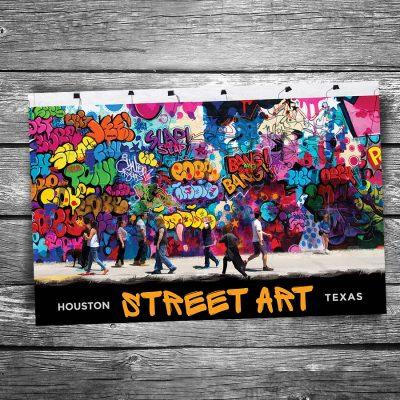 Houston Street Art Postcard
