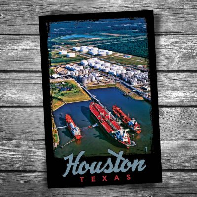 Port of Houston Postcard