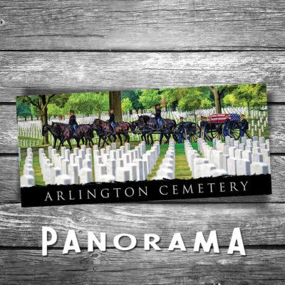 Arlington Cemetery Panorama Postcard