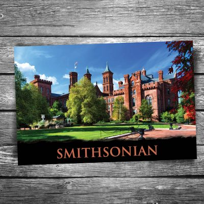 Smithsonian Castle Postcard