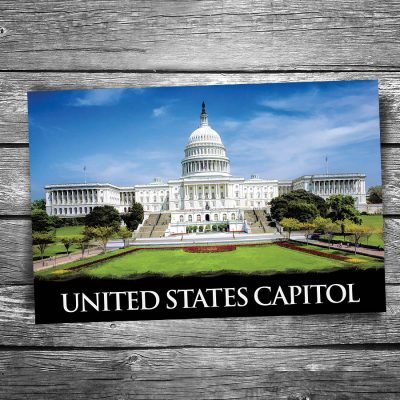 US Capitol Building Postcard