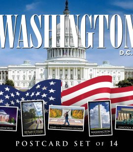 Washington D.C. Postcards | Set of 14