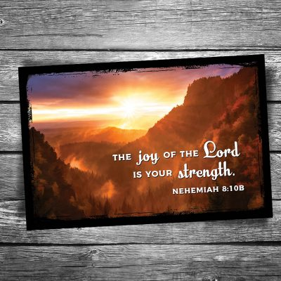 Joy of the Lord Postcard