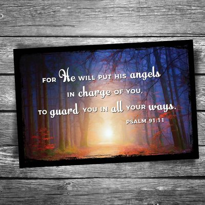 Angels in Charge Postcard