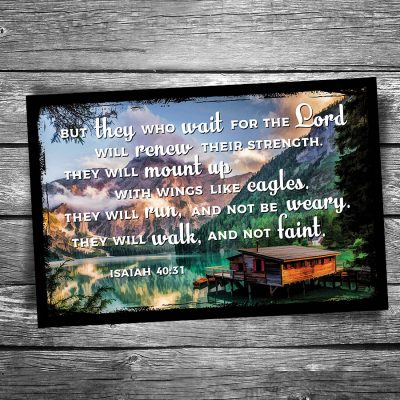 Wait for the Lord Postcard
