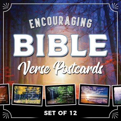 Bible Verse Postcards | Set of 12