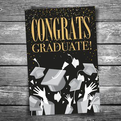 Congratulations Graduate Postcard