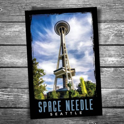 Seattle Space Needle Postcard