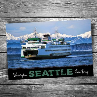 Seattle Ferry Postcard