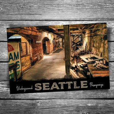 Seattle Underground Postcard