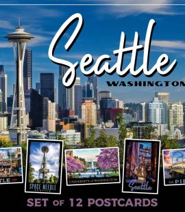 Seattle Postcards | Set of 12