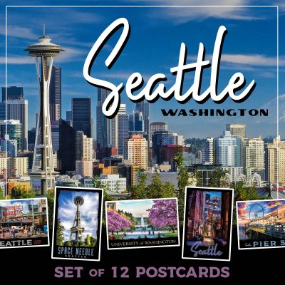 Seattle Postcards | Set of 12