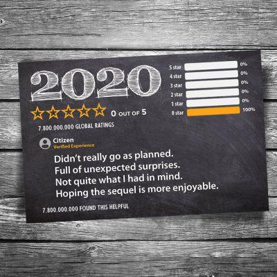 2020 Review Postcard