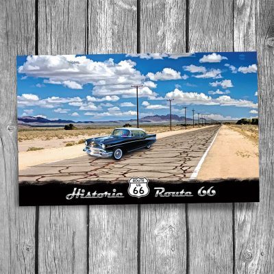 Route 66 The Mother Road Postcard