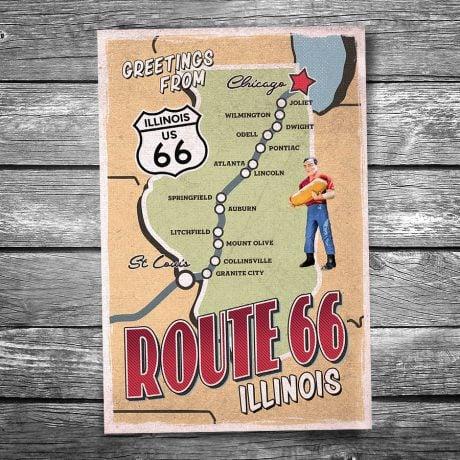 66-133-Route-66-Illinois-Map-Postcard