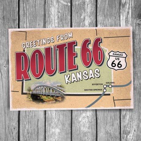 66-135-Route-66-Kansas-Map-Postcard