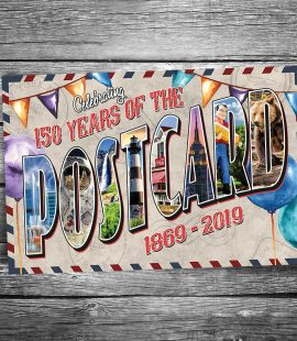 Postcard 150th Anniversary