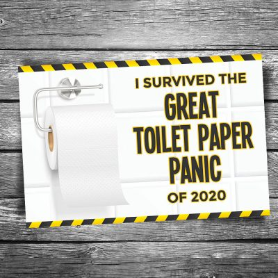 Great Toilet Paper Panic 2020 Postcard