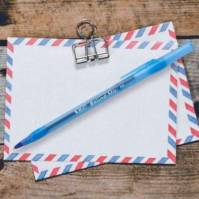 Bic Round Stic Medium Pen