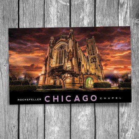 CHGO-197-Rockefeller-Chapel-Postcard