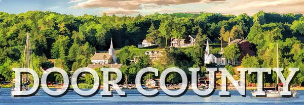 Shop Door County, WI Postcards