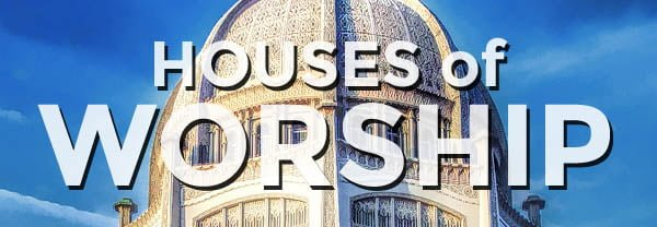 Shop Houses of Worship Postcards