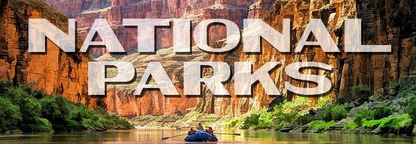 US National Parks Postcards
