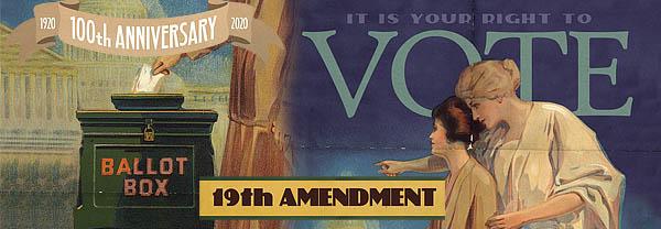 19th Amendment Women's Right to Vote