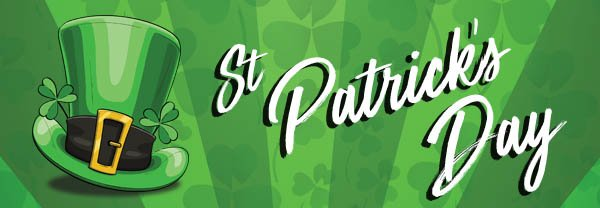 St Patrick's Day Postcards