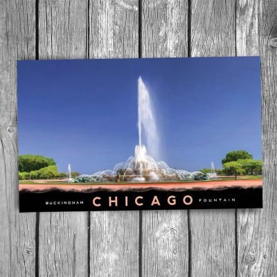 Buckingham Fountain Chicago Postcard