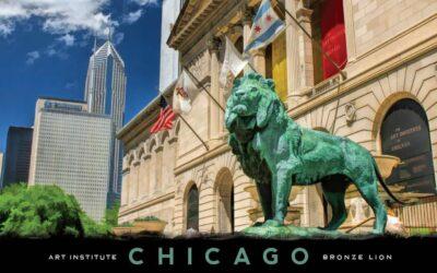 Art Institute Chicago Postcard