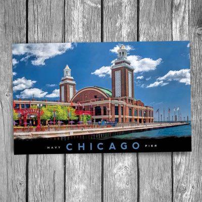 Navy Pier Ballroom Chicago Postcard