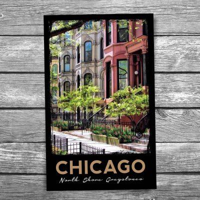 Chicago Greystone Postcard