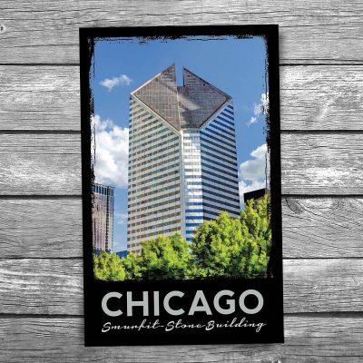 Smurfit Building Chicago Postcard