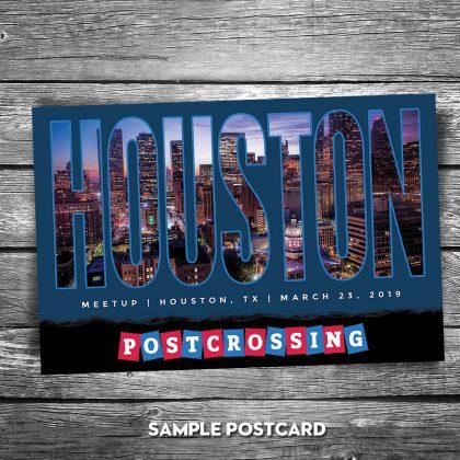 Meet Up Postcard Sample 1