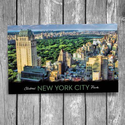 Central Park New York City Postcard