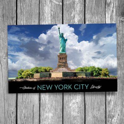 Statue of Liberty New York City Horizontal Postcard