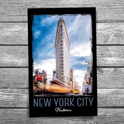 Flatiron New York City Postcard