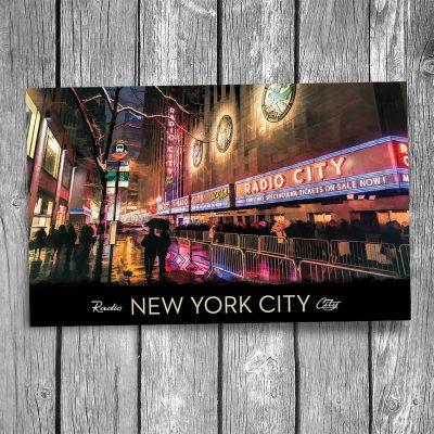 Radio City New York City Postcard