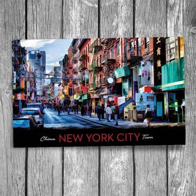 Chinatown New York City Postcard