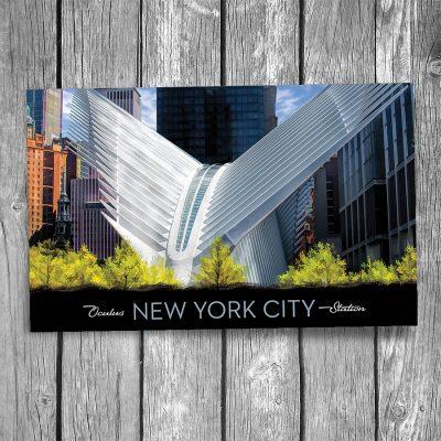 World Trade Center Transportation Hub New York City Postcard