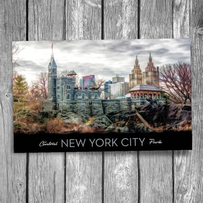 Central Park Belvedere Castle New York City Postcard