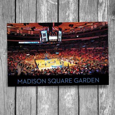 Madison Square Garden New York City Postcard