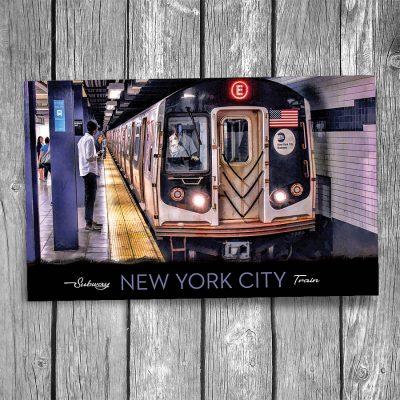 New York City Charles Street Subway Station Postcard