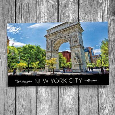 New York City Washington Square Postcard
