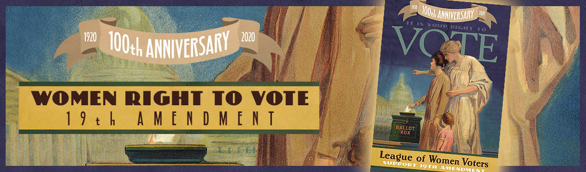 19th Amendment Postcard