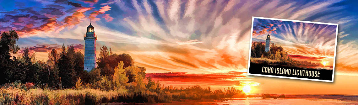 Cana Island Lighthouse Sunrise