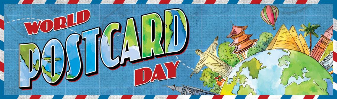 World Postcard Day Postcard